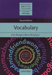 Image of Vocabulary : Resource Books For Teachers