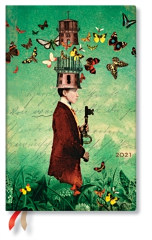 Image of Dreamscapes 2021 Diary Maxi Flexi Week At A Time Horizontal Format