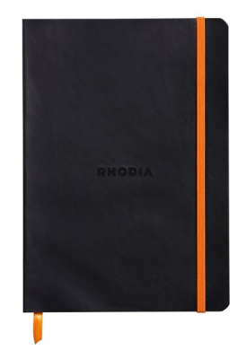 Image of Notebook Rhodiarama Softcover A5 Dot Black