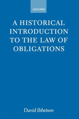 Image of Historical Introduction To The Law Of Obligations