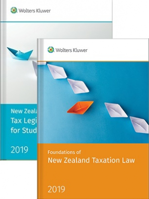 Image of New Zealand Student Tax Pack 2 2019 : Foundations Of New Zealand Taxation Law & New Zealand Tax Legislation For Students