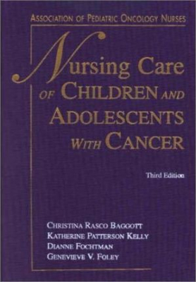 Image of Nursing Care Of Children & Adolescents With Cancer