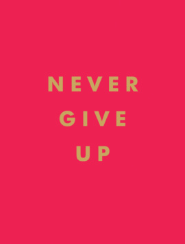 Never Give Up : Inspirational Quotes For Instant Motivation