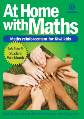 Image of At Home With Maths : Maths Reinforcement For Kiwi Kids Stage5 : 7-8 Years Old