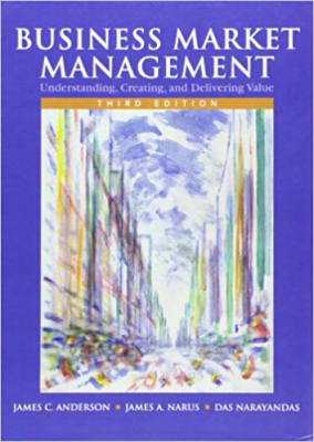 Image of Business Market Management Understanding Creating & Delivering Value