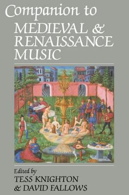 Image of Companion To Medieval & Renaissance Music
