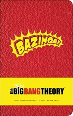 Image of Big Bang Theory Hardcover Ruled Journal