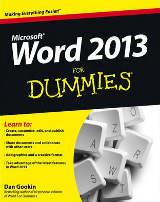 Image of Word 2013 For Dummies