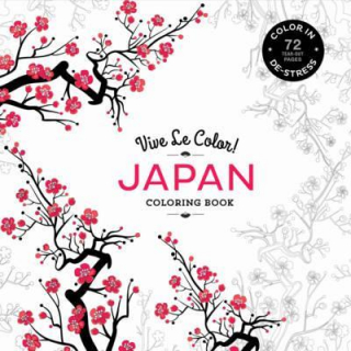 Image of Vive Le Color : Japan Coloring Book