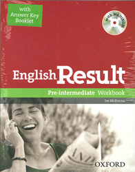 Image of English Result Pre Intermediate Workbook With Answer Booklet&d Multirom Pack