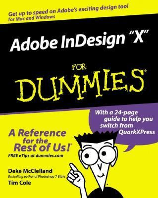 Image of Adobe Indesign X For Dummies