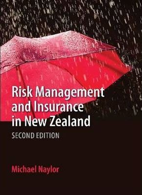 Image of Risk Management And Insurance In New Zealand