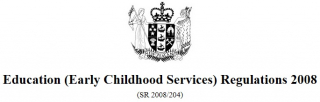 Image of Education Early Childhood Services Regulations 2008 : Reprint As At 1 July 2017