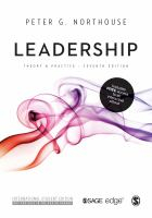 Image of Leadership : Theory And Practice