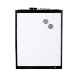 Image of Whiteboard Quartet Basics Magnetic 28 X 36cm Black