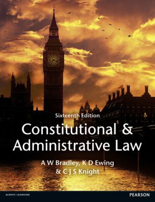 Image of Constitutional And Administrative Law