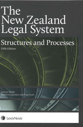 Image of New Zealand Legal System : Structures & Processes : Book + Ebook