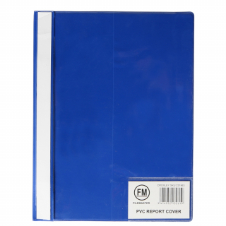 Image of Report Cover Fm Pvc A4 Blue