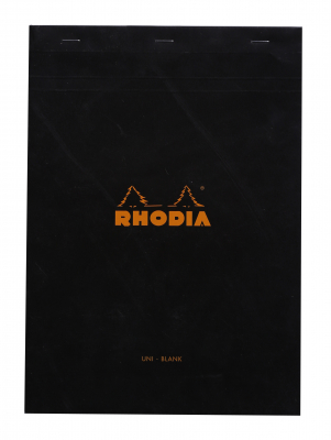 Image of Pad Bloc Rhodia A4 Plain Black