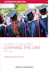 Image of Glanville Williams : Learning The Law