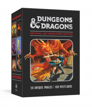 Image of Dungeons and Dragons : 100 Postcards : Archival Art from Every Edition