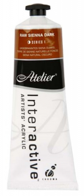 Image of Paint Atelier Series 1 80ml Raw Sienna
