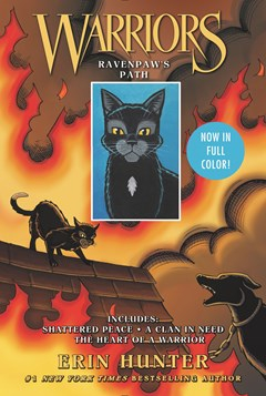 Image of Warriors : Ravenpaw's : Path Shattered Peace : A Clan In Need : The Heart Of A Warrior