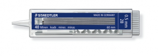 Image of Pencil Leads Staedtler 2b 0.5mm 40 Pack