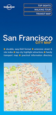 Image of San Francisco City Map : Lonely Planet