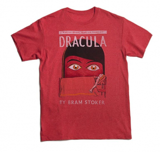 Image of Dracula : Unisex Large T-shirt