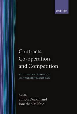 Image of Contracts Cooperation And Competition : Studies In Economicsmanagement And Law