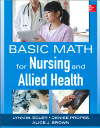 Image of Basic Math For Nursing And Allied Health