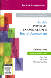 Image of Pocket Companion For Jarvis's Physical Examination And Health Assessment : 1st Australasian Edition