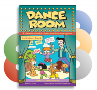 Image of Dance Room : A Developmental Classroom Dance Programme : Level 2 : Book
