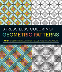 Image of Stress Less Coloring : Geometric Patterns