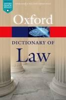 Image of Oxford Dictionary Of Law
