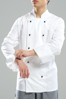 Image of Chefs Jacket Long Sleeve Small