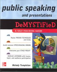 Image of Public Speaking And Presentations Demystified