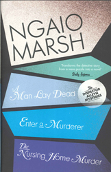 Image of Ngaio Marsh Collection 1 : Man Lay Dead + Enter A Murderer +nursing Home Murder