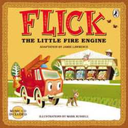 Image of Flick The Little Fire Engine + Cd