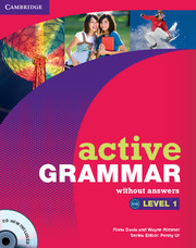 Image of Active Grammar : Level 1 Without Answers + Cd-rom