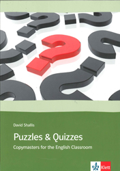 Image of Puzzles And Quizzes : 39 Copymaters For The English Classroom