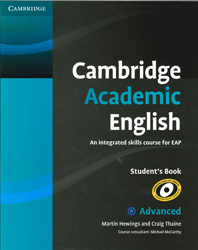 Image of Cambridge Academic English : Advanced C1 : Student's Book