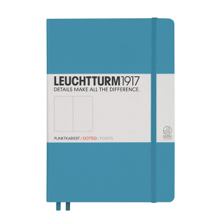 Image of Journal Leuchtturm 1917 Medium Dotted Nordic Blue