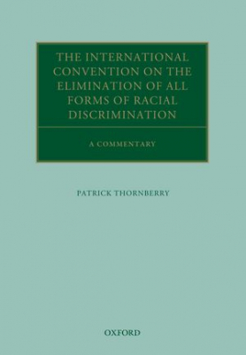 Image of International Convention On The Elimination Of All Forms Of Racial Discrimination : A Commentary