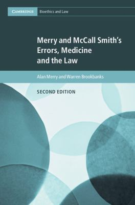 Image of Merry And Mccall Smith's Errors Medicine And The Law