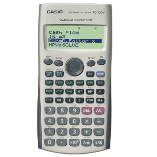 Image of Calculator Casio Fc100v Financial