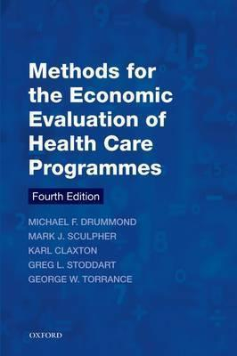 Image of Methods For The Economic Evaluation Of Health Care Programmes