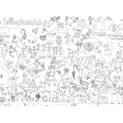 Animals : Nurie Colouring Map