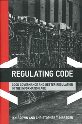 Image of Regulating Code : Good Governance And Better Regulation In The Information Age